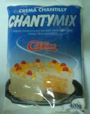 Crema Chantilly Collico ChantyMix 15x 400 gr